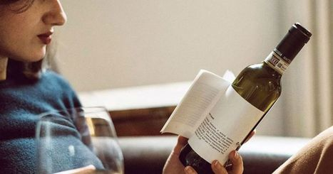 These wine bottles have short story labels so you can read while you drink | Quirky wine & spirit articles from VINGLISH | Scoop.it