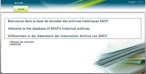 Le groupe SNCF met en ligne ses archives 39-45   GenealoNet   Scoop.it