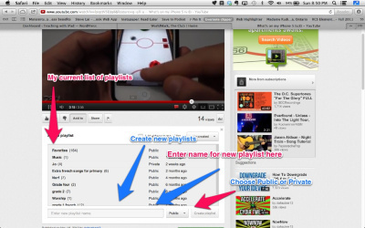 Create Playlists in YouTube[HOW-TO] | iPads, MakerEd and More  in Education | Scoop.it