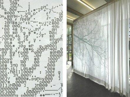 10 Weird Curtains - Weird Worm | ASCII Art | Scoop.it