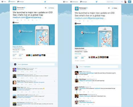 Twitter s'inspire de Facebook pour clarifier les conversations - Blog du Modérateur | Le Social Media par ChanPerco | Scoop.it