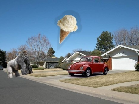 A Gorilla, an Ice Cream Cone, and a Volkswagen – Telepathy? « Charles T. Tart | Aladin-Fazel | Scoop.it