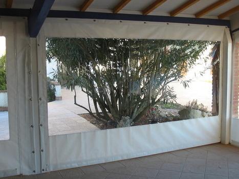 b che transparente pour terrasse cr eac. Black Bedroom Furniture Sets. Home Design Ideas