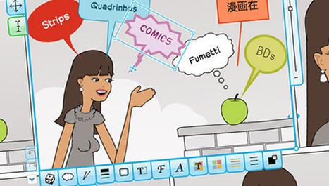 Création et partage de BD en ligne avec Pixton | le monde de la BD | Scoop.it