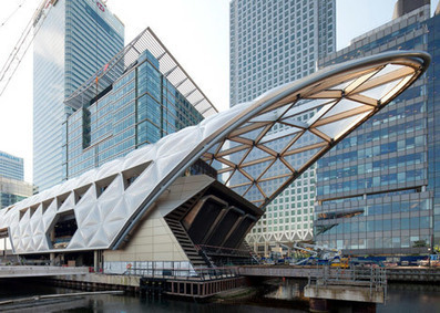 Foster's Crossrail Place roof garden to open at Canary Wharf | green streets | Scoop.it