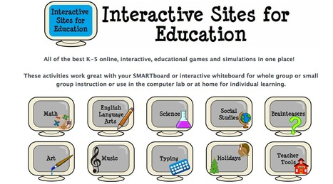 Interactive Learning Sites for Education | technological tools for educators | Scoop.it