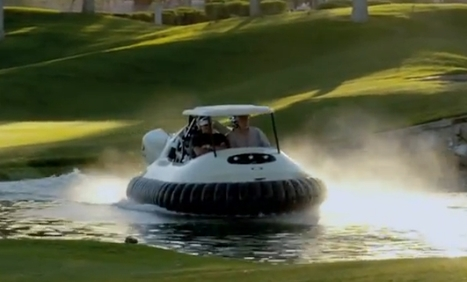 Bubba Watson's Hovercraft Puts All Golf Carts to Shame [VIDEO] | Tech Jam | Scoop.it