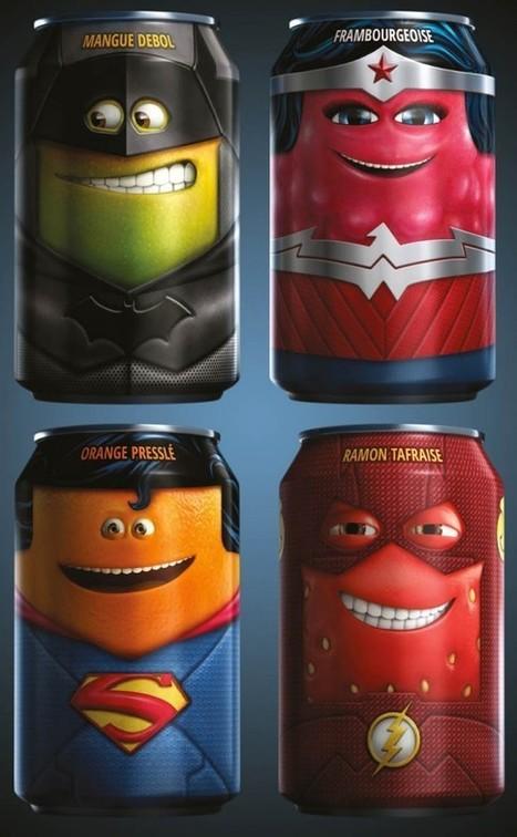 Les Cannettes Oasis se déguisent en super-héros | Santé, nutrition et bonne bouffe! | Scoop.it