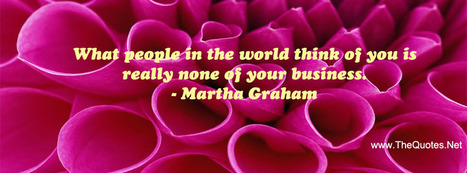 Facebook Cover Image - Martha Graham Quote - TheQuotes.Net | Facebook Cover Photos | Scoop.it