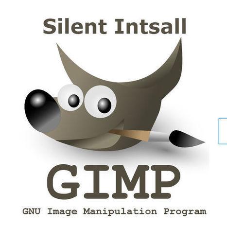 Gimp silent install uninstall msi and exe versi