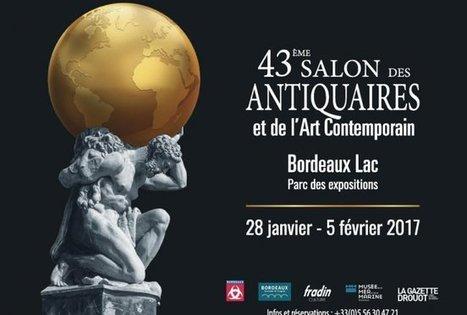 Salon des Antiquaires et de l'Art Contemporain de Bordeaux Lac 43e année | Bordeaux Gazette | Scoop.it