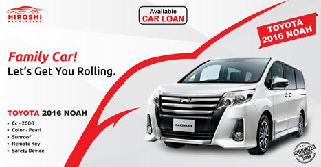 Noah Car Price In Bangladesh Toyota Car Price