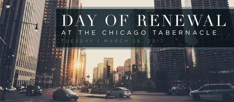 Day of Renewal   Chicago 2017  March 28   CityReaching   Scoop.it