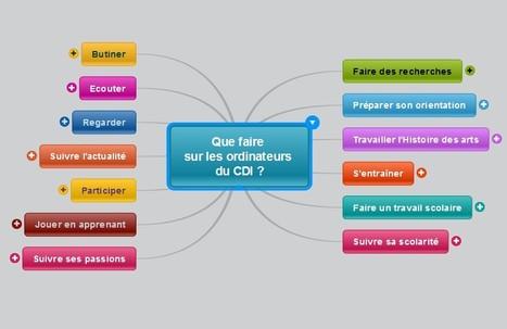 CDI - Collège Fraissinet | Que faire sur les ordinateurs du CDI ? | Portail E-sidoc | Scoop.it