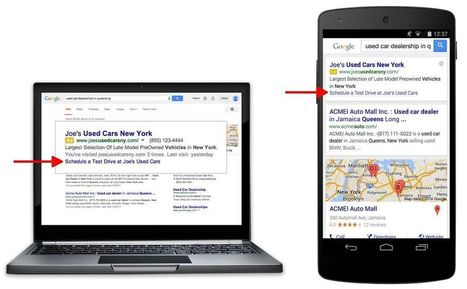 Google AdWords Debuts Dynamic Sitelinks Globally: What You Need To Know | Digital Marketing Insights and Best Practices | Scoop.it