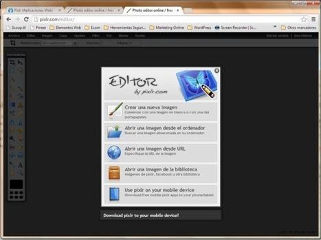 Pixlr.com te ofrece 4 Editores de Fotos Online Gratis! | Recursos Web Gratis | Scoop.it