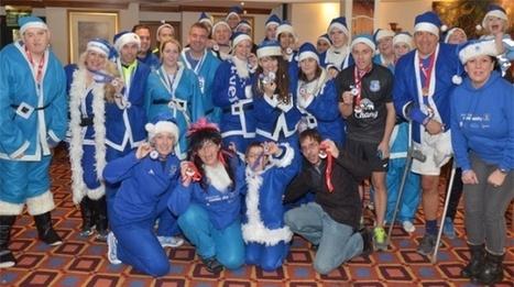 Santa Dash 2013 - Everton In The Community   Christmas fundraising   Scoop.it