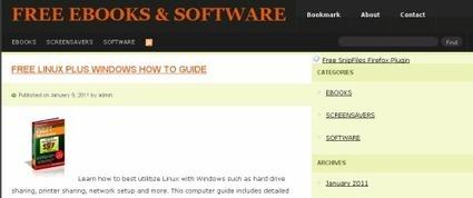 Sítios com ebooks | livros electrónicos | Scoop.it