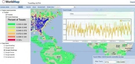 TweetMap, descubriendo en GoogleMaps lo que twittea el planeta.- | Google+, Pinterest, Facebook, Twitter y mas ;) | Scoop.it