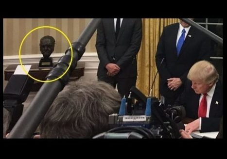 Trump restores bust of Winston Churchill to White House | THE MEGAPHONE | Scoop.it