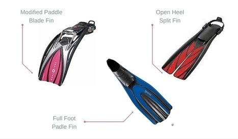 Here's How You Should Choose the Fins That Fit Your Diving Style | Bookyourdive | Scoop.it