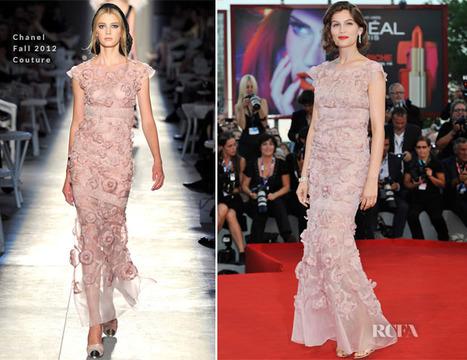 Laetitia Casta In Chanel Couture – 'L'Homme Qui Rit' Venice Film ... | Global Luxury | Scoop.it