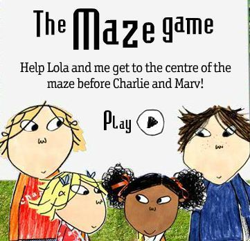charlie and lola games for free
