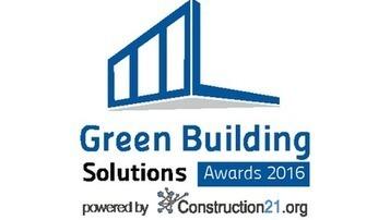 Green Building & City Solutions Awards : les votes sont ouverts jusqu'au 20 septembre   Eco-construction et Eco-conception   Scoop.it