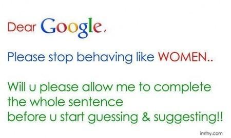 Meanwhile...is Google een chick? | Door: Redactie Contentgirls » | ten Hagen on Google | Scoop.it