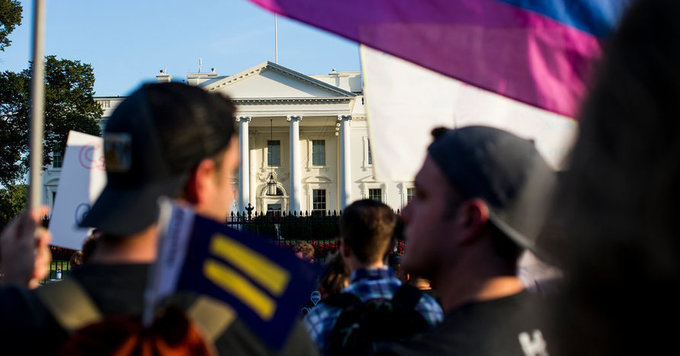 In One Day, Trump Administration Lands 3 Punches Against Gay Rights