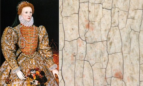 Why the Virgin Queen wasn't really pale and interesting: Paint tests of portrait show Elizabeth I had rosy red cheeks | British Genealogy | Scoop.it