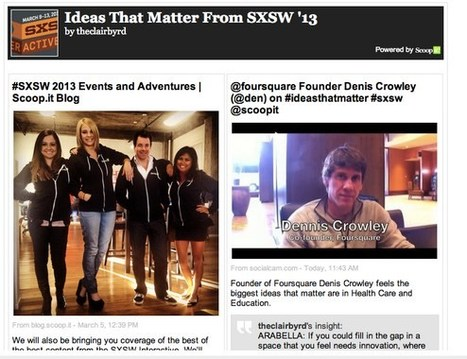 ScoopIt Scoop: Curated Newsletters and MailChimp Integration | The Social Media Learning Lab | Scoop.it