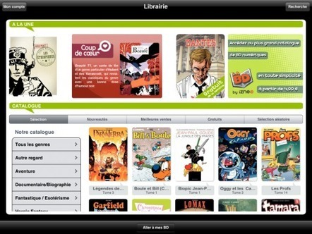 La BD francophone, un marché à la traîne sur le numérique l InaGlobal | Livres numériques et applications pour enfants | Scoop.it