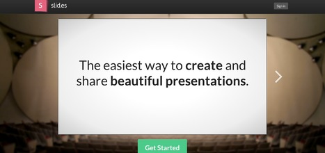 Slides - The easiest way to create and share beautiful presentations. | academiPad | Scoop.it