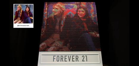 Forever 21 crée un panneau qui diffuse vos photos Instagram avec 6400 bobines de fil   Instagram: outils, tips & fun   Scoop.it