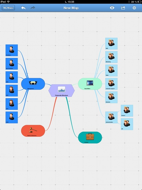 mindmapping' in Android and iPad apps for language teachers