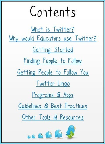 Twitter for Educators Beginner's Guide Learning | Into the Driver's Seat | Scoop.it