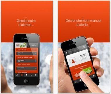 La montagne en toute sécurité avec l'appli iPhone iSis (video) | Geeks | Scoop.it