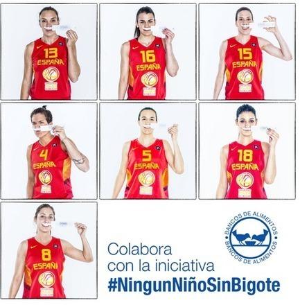 """La selección se une a la campaña """"Ningún niño sin bigote""""   Basket-2   Scoop.it"""