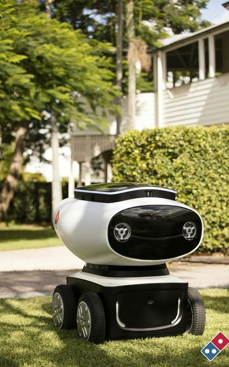 Domino's trials pizza delivery by robot  | Kickin' Kickers | Scoop.it