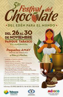 V Festival del Chocolate Tabasco 2014   Delicias de la Comida Prehispanica   Scoop.it