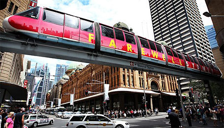 Monorail swan song   Australian Culture   Scoop.it
