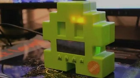Space Invaders Alarm Clock Becomes a Gmail Notifier | All Geeks | Scoop.it