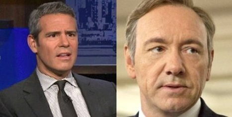 Andy Cohen Outs Kevin Spacey In His New Memoir @NewNowNext | notstraight.com | Scoop.it