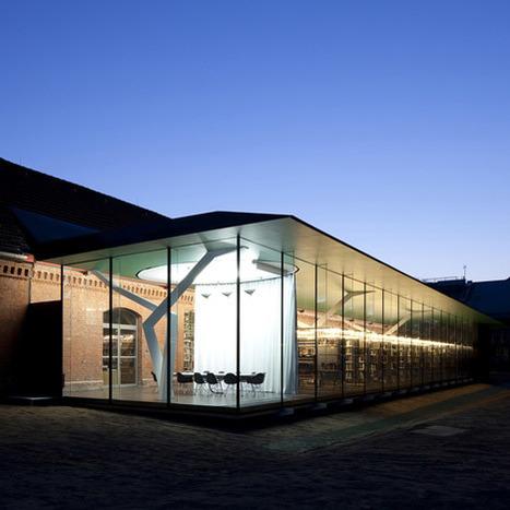 Dezeen » Bibliothèque - Architecture | BiblioLivre | Scoop.it