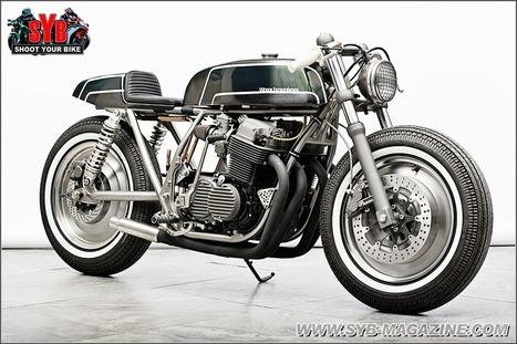honda cb 750 four sohc cafe racer motorcycles. Black Bedroom Furniture Sets. Home Design Ideas