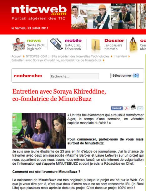 Semaine du Web à Alger (2) : La révolution des talents #SDW » Le Blog du Personal Branding | Revolution Digitale Algérienne | Scoop.it