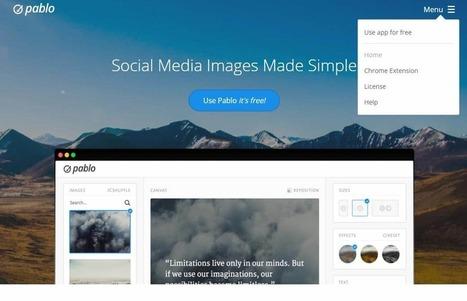 Illustrations sans bavure sur les réseaux sociaux, Pablo | Des cliparts pour mes maps | Scoop.it