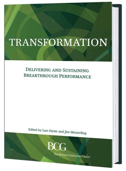 Transformation: Delivering and Sustaining Breakthrough Performance | Emerging Themes in Marketing | Scoop.it