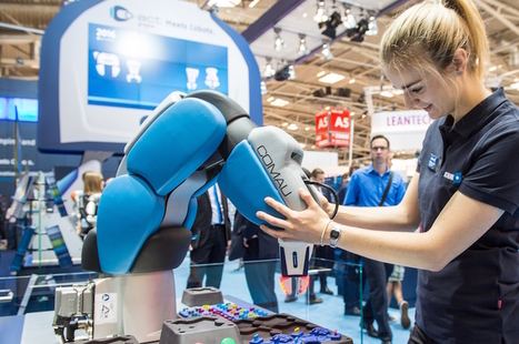 Automatica's exhibitors were trumpeting Industry 4.0. Is this the turning point for robotics? | Robohub | Robotics | Scoop.it